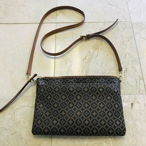 Fossil Crossbody Small Leather Bag Brown